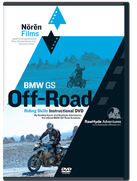 BMW Motorcycles GS Off-Road Riding Skills Instructional DVD
