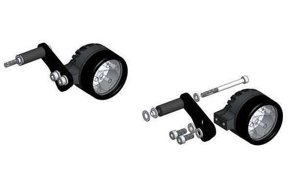 Clearwater R1150RT Darla Fender Mount Light Kit
