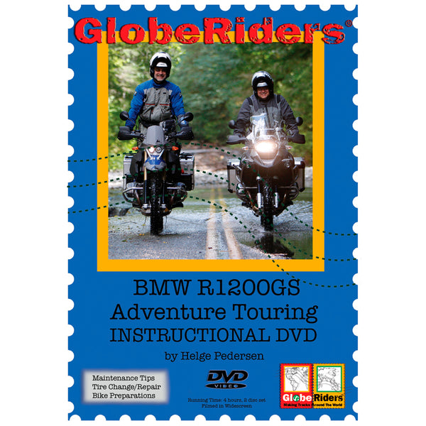 GlobeRiders BMW R1200GS Adventure Touring Instructional DVD