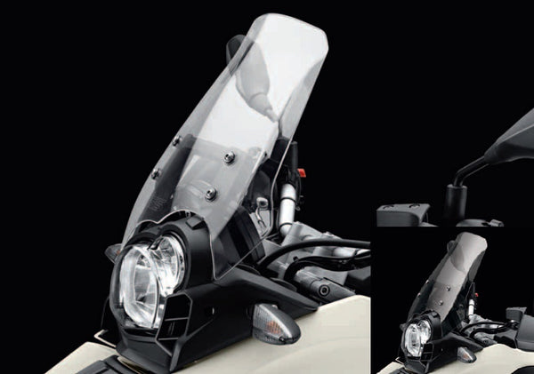 BMW G650GS|Sertao (11-) Tall Tinted or Clear Windshield