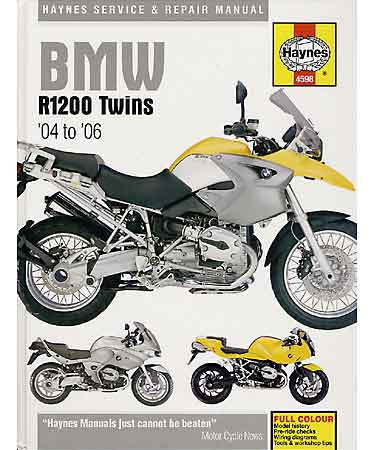 Haynes R1200 Hexhead 04-09 Repair Manual