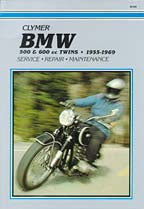 Clymer 500 & 600cc Twins (55-69) Repair Manual