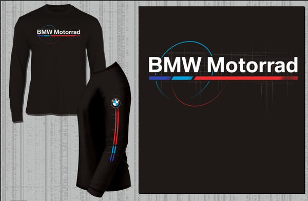 BMW Motorcycles Motorsport Longsleeve Shirt (Black)