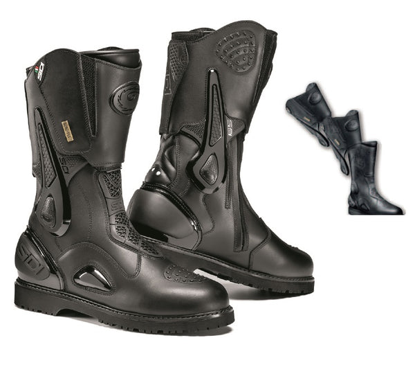 Sidi Armada Gore-Tex Black Motorcycle Boot