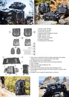 BMW R1200GS ADV (06-13) Atacama Adventure Luggage System