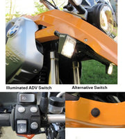 BMW R1200GS (08-12) LED Take-Down Light Kit