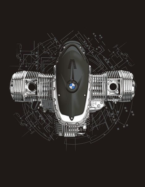 BMW Motorcycles Boxer Power Shirt