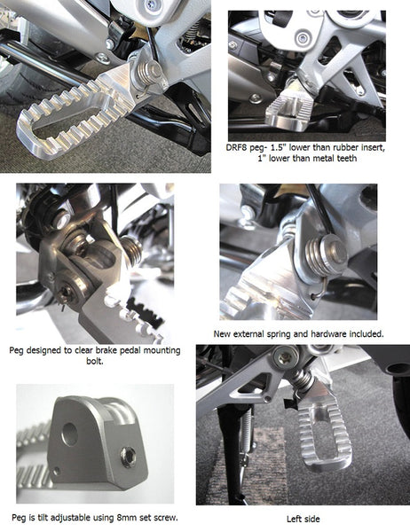 Suburban Machinery R1200GS WC (13-)ADV WC (14-) Low Peg Kit
