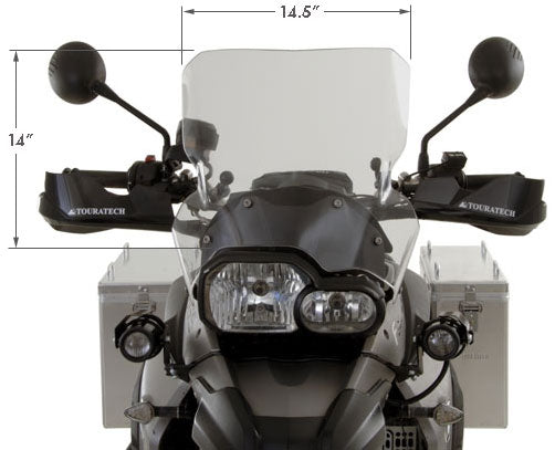 Touratech F800GS|F700GS|F650GS2 Deluxe Touring Windshield