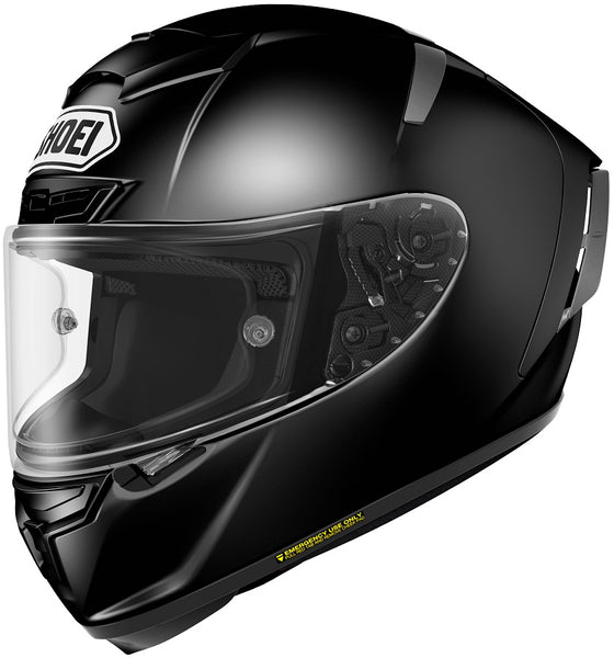Shoei X-14 Black Helmet