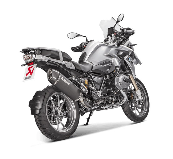 Akrapovic R1200GS WC (13-)|ADV WC (14-) EU4 Black Slip-On Exhaus