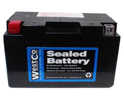 WestCo 12VZ10S Classic AGM Battery for BMW G650 X Series