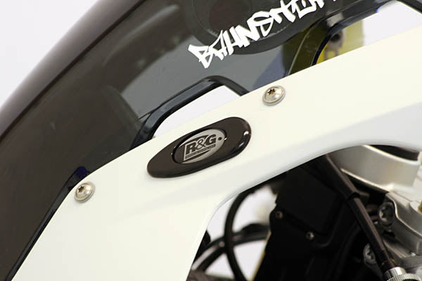 R&G Racing S1000RR Mirror Blockoff Plates