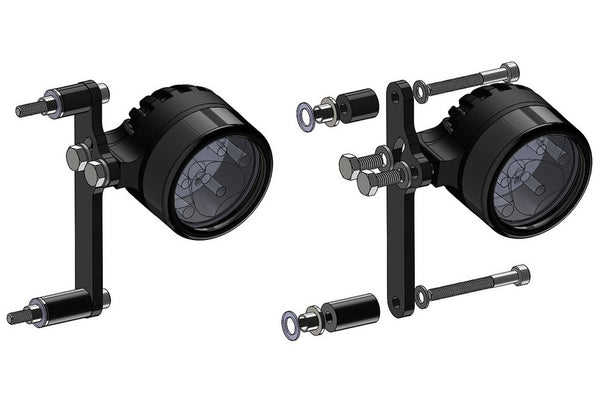 Clearwater S1000XR Darla Fork Mount Light Kit