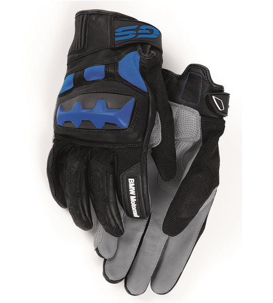 BMW Motorcycles Rallye Gloves Black/Blue