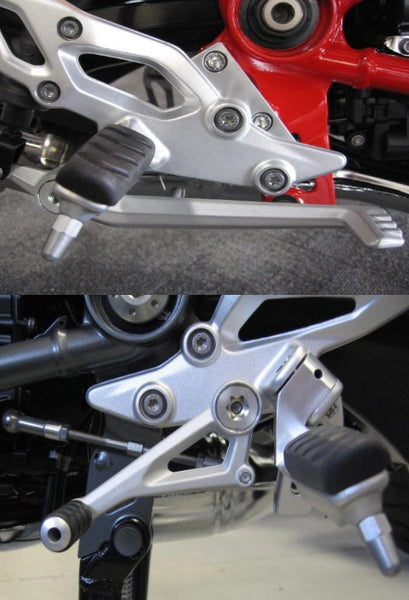Suburban Machinery R1250RS|R1200RS WC|R1250R|R1200R WC Footpeg Lowering Kit