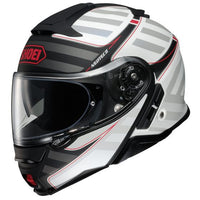 Shoei Neotec II Splicer Matte Black/White Helmet