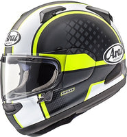 Arai Quantum-X Take Off Yellow Helmet