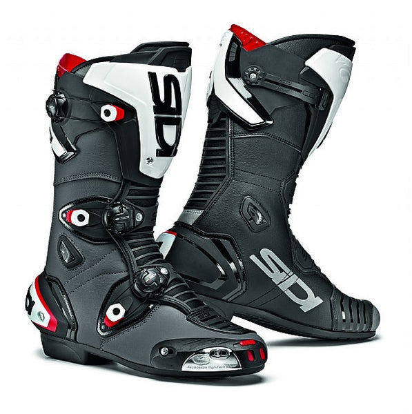 Sidi Mag-1 Black/White Motorcycle Boot
