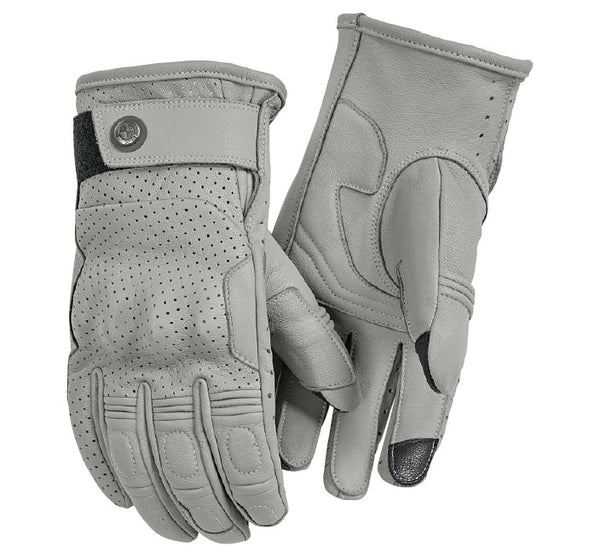 BMW Motorcycles Summer Gloves Light Grey