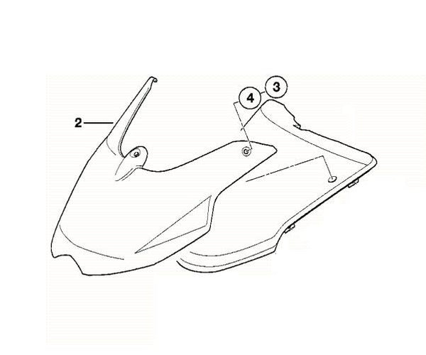 BMW G650GS|F650GS Front Fender Extension