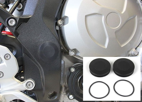 Hornig S1000XR Swingarm Pivot Cover Set