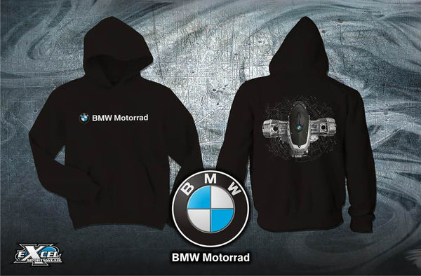 BMW Motorcycles Boxer Power Hooded Sweatshirt