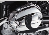 BMW R1200 Hexhead OC Chrome Valve Cover Set w/Gaskets
