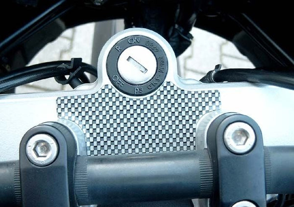 Hornig R1150GS|R1100GS|ADV Carbon Look Triple Clamp Pad