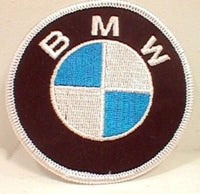 Euroline BMW Motorcycles 3-inch Logo Patch