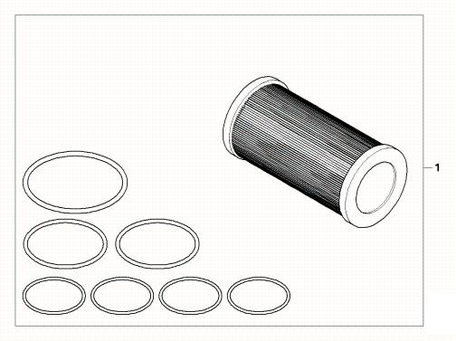 BMW G450X Oil Filter Kit