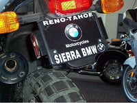 Sierra BMW Motorcycle License Plate Frame
