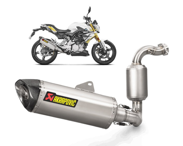 Akrapovic G310R|G310GS Racing Stainless Exhaust System