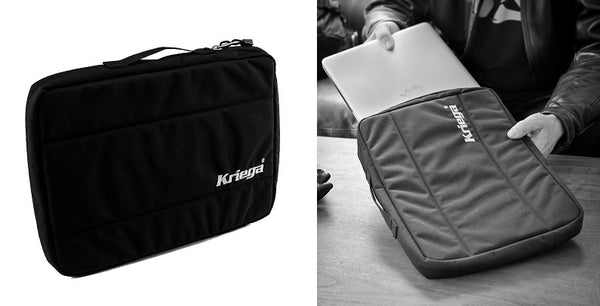 Kriega Kube Laptop Motorcycle Carry Case