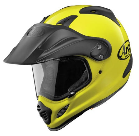 Arai XD4 Fluorescent Yellow Helmet