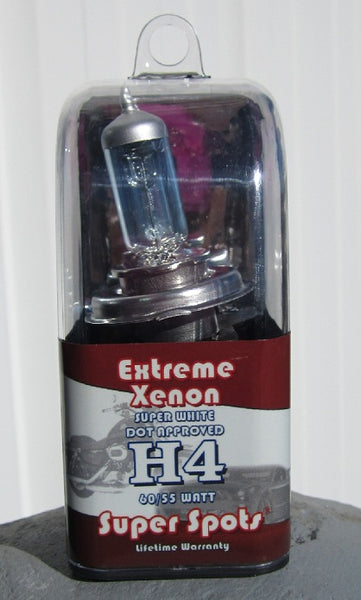 Extreme Xenon H4 DOT Super Spot for select BMW Motorcycles