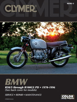 Clymer BMW R50/5 through R100GS PD (70-96) Repair Manual