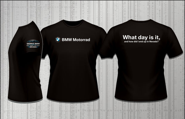 Sierra BMW Motorcycle Longsleeve - What day is it...?