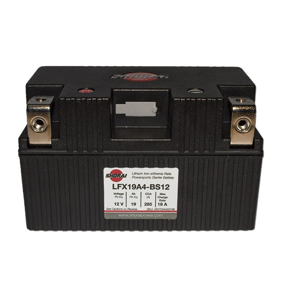 Shorai LFX19A4-BS12 Lithium-Iron Powersports Battery