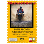 GlobeRiders BMW F800GS Adventure Touring Instructional DVD
