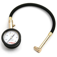 Accu-Gage Motorcycle Tire Pressure Gauge with Protective Cover