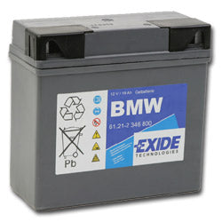 BMW Motorcycles Gel Battery 12volt 19AH