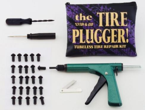 Stop & Go The Tire Plugger - Tubeless Motorcycle Tire Repair Kit