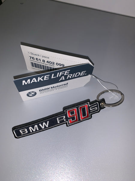 BMW Motorcycles R90S Cloth Key Fob