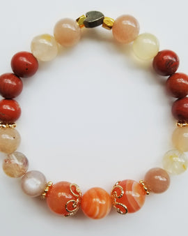 Bracelet for Intuition, Balance, Career & Wealth