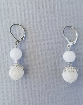 Earrings for Renewal, Energy & Protection