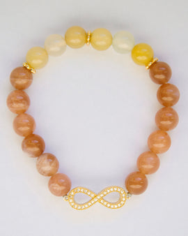 Bracelet for Protection, Wealth & Clarity