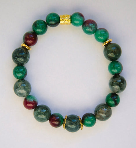 Bracelet for Protection, Intuition & Power
