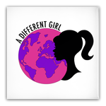[A Different Girl Logo] Pin-Back Button