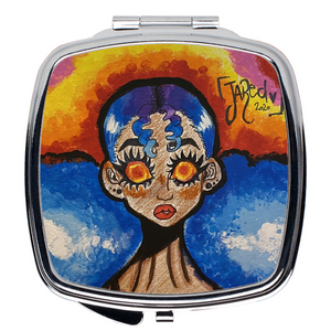Open image in slideshow, [HEAD IN THE CLOUDS] Compact Mirror